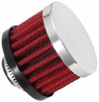 "K&N Filters - K&N Clamp-On Transmission, Rear End Breather Vent Filter - 1/2"" Flange I.D."