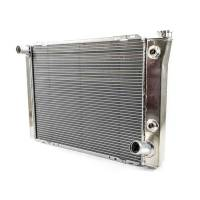 "Howe Racing Enterprises - Howe Aluminum Late Model Radiator w/ Heat Exchanger - Chevy - 19"" x 27"" x 3"