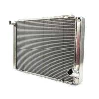 "Howe Racing Enterprises - Howe Aluminum Late Model Radiator w/ No Filler - Chevy - 19"" x 28"" x 3"""