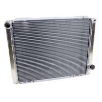 "Howe Racing Enterprises - Howe Aluminum Late Model Radiator w/ No Filler - Chevy - 19"" x 26"" x 3"""