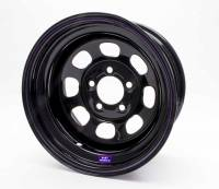 "Bart Wheels - Bart Standard Weight Wheel - Black - 15"" x 8"" - 5 x 4.75"" Bolt Circle - 3"" Back Spacing - 28 lbs."