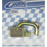 "Canton Racing Products - Canton Oil Pump Pick-Up - SB Chevy - Circle Track 7"" Deep Oil Pan w/ Standard, High Volume BB Pump w/ 3/4"" Inlet"