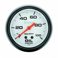 "Auto Meter Products - Auto Meter Phantom Oil Pressure Gauge - 2-5/8"" - 0-100 PSI"