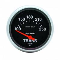 Auto Meter - Auto Meter Sport-Comp Electric Transmission Temperature Gauge - 100°-250°