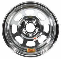 "Aero Race Wheel - Aero 52 Series IMCA Rolled Wheel - Chrome - 15"" x 8"" - 5 x 4.75"" Bolt Circle - 3"" Back Spacing - 19 lbs."