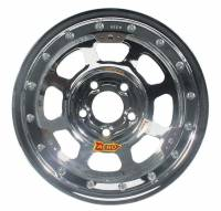 "Aero Race Wheel - Aero 53 Series IMCA Rolled Beadlock Wheel - Chrome - 15"" x 8"" - 5 x 5"" Bolt Circle - 3"" Back Spacing - 23 lbs."