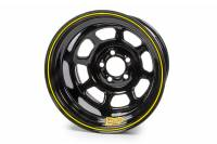 "Aero Race Wheel - Aero 58 Series Rolled Wheel - Black - 15"" x 10"" - 5 x 5"" Bolt Circle - 5"" Back Spacing - 21 lbs."