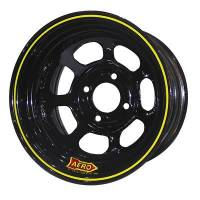 "Aero Race Wheel - Aero 31 Series Spun Wheel - Black - 13"" x 8"" - 4 x 4"" Bolt Circle - 4"" Back Spacing - 14 lbs."