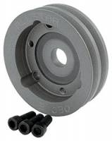 "Allstar Performance - Allstar Performance Aluminum 2 Groove Chevy Crankshaft Pulley - 4-3/4"" Diameter"