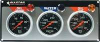Allstar Performance - Allstar Performance Auto Meter Sport-Comp 3 Gauge Panel - OP/WT/OT