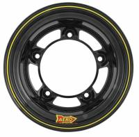 "Aero Race Wheel - Aero 58 Series Rolled Wheel - Black - 15"" x 10"" - Wide 5 - 4"" Back Spacing - 18 lbs."
