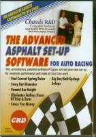 Chassis R & D - Chassis R & D Advanced Asphalt Set-Up Software - Ideal For Soft Spring, Big Bar Set Ups - Windows
