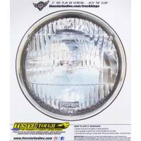 "Five Star Race Car Bodies - Five Star Headlight Decal - T-3 Style - Small: 6.00"" Diameter"