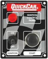 QuickCar Racing Products - QuickCar ICP05 Ignition Panel - Ignition Switch - Start Button & 1 Pilot Light
