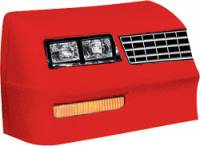 Allstar Performance - Allstar Performance 1983-88 Monte Carlo SS Nose - Red - Left (Only)