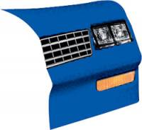 Allstar Performance - Allstar Performance 1983-88 Monte Carlo SS Nose - Chevron Blue - Right (Only)