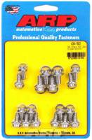 ARP - ARP SB Chevy Stainless Steel Oil Pan Bolt Kit - 12-Point Head - SB Chevy