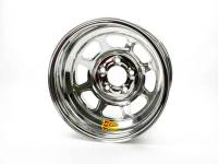 "Aero Race Wheel - Aero 56 Series Extreme Bead Spun Racing Wheel - Chrome - 15"" x 8"" - 2"" Back Spacing - 5 x 5"" Bolt Circle - 18 lbs."
