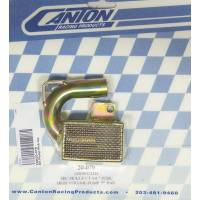 "Canton Racing Products - Canton Oil Pump Pick-Up - SB Chevy - Road Race High Volume Pump w/ 3/4"" Inlet (Melling #MEKM155Hv) 7"" Deep Oil Pan"