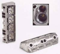 "Dart Machinery - Dart Iron Eagle Cylinder Head - Bare - 64cc Chamber - 180cc Intake Runner - SB Chevy 327, 350, 400 - 2.02"" Valves, 1.60"" Valves - Straight Plug"
