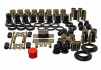 Energy Suspension - Energy Suspension Hyper-Flex Bushing Master Set - Polyurethane - Black - 78-87 GM Vehicles