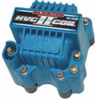 MSD - MSD Blaster HVC-2 Ignition Coil - E-Core - Square - Epoxy - Blue - 44000 V
