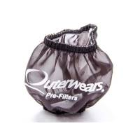 "Outerwears Performance Products - Outerwears 3"" Non-Shielded Crank Breather Pre-Filter w/o Top - Black"