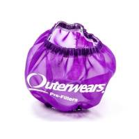 "Outerwears Performance Products - Outerwears 3"" Shielded Crank Breather Pre-Filter w/o Top - Purple"
