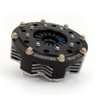 "Quarter Master - Quarter Master V-Drive Clutch Button Style Clutch Assembly - 5.5"" - 2 Disc - 1-1/8"" x 10 Spline - Chevy - 5.45 lbs."