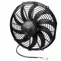"SPAL Advanced Technologies - SPAL 12"" Puller High Performance Electric Fan - Curved Blade - 1450 CFM"