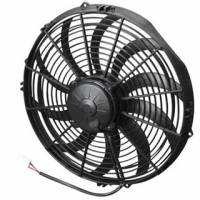 "SPAL Advanced Technologies - SPAL 14"" Pusher High Performance Electric Fan - Curved Blade - 1720 CFM"