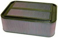 "K&N Filters - K&N Carbon Fiber Sprint Car Airbox Filter (Only) - 18-7/8"" x 13-3/4"" x 6-1/4"" Tall"