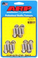 "ARP - ARP Stainless Steel Header Bolt Kit - 3/8"" x .750"" Under Head Length (12 Pieces) - Hex"