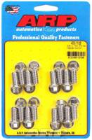 "ARP - ARP Stainless Steel Header Bolt Kit - 3/8"" x .750"" Under Head Length (16 Pieces) - Hex"