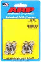 "ARP - ARP Stainless Steel Valve Cover Bolt Kit - For Stamped Steel Covers - 1/4""-20 - .515"" Under Head Length - Hex (8 Pieces)"