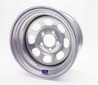 "Bart Wheels - Bart Standard Weight Wheel - Silver - 15"" x 8"" - 5 x 4.75"" Bolt Circle - 4"" Back Spacing - 28 lbs."