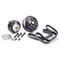 Jones Racing Products - Jones Racing Products Serpentine Crank to Water Pump Drive System - SB or BB Chevy, Short Water Pump