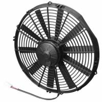 "SPAL Advanced Technologies - SPAL 14"" Puller High Performance Fan - Straight Blade - 12V - 1650 CFM"