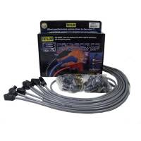 Taylor Cable Products - Taylor 8mm Spiro-Pro Universal Spark Plug Wire Set - Grey - 90° Boots