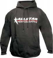 Allstar Performance - Allstar Performance Hooded Sweatshirt - Black - Large