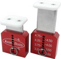 "Moose Blocks - Moose Blocks Chassis Set-Up Blocks - Tall - 3""-6"""