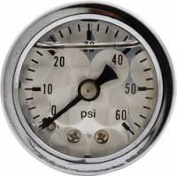 "Allstar Performance 80216 Shockproof Dry Type 0-100 PSI 1-1//2/"" Pressure Gauge"