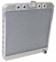 "Saldana Racing Products - Saldana Standard Sprint Radiator - 21-1/2"" Tall x 20"" Wide - 4 1/2"" NPT Inlets  1-1/2"" Outlet"