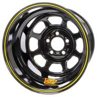 "Aero Race Wheel - Aero 31 Series Spun Wheel - Black - 13"" x 8"" - 4 x 4.50"" Bolt Circle - 4"" Back Spacing - 14 lbs."