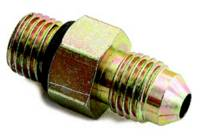 "A-1 Performance Plumbing - A-1 Performance Plumbing 3/8""-24 to -04 AN Male Steel Adapter w/ Washer"