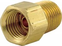"Allstar Performance - Allstar Performance 1/8"" NPT to 1/4"" Inverted Steel Flare Adapter"