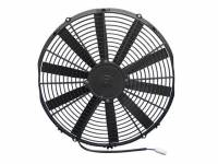 "SPAL Advanced Technologies - SPAL 16"" Straight Blade Low Profile Fan, 12V Puller - 1300 CFM"