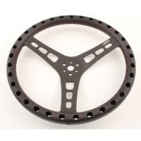 "Joes Racing Products - JOES Aluminum Dished Steering Wheel - 14"" - Black"