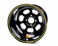 "Aero Race Wheel - Aero 31 Series Spun Wheel - Black - 13"" x 7"" - 4 x 4"" Bolt Circle - 3.5"" Back Spacing - 13 lbs."