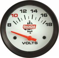 QuickCar Racing Products - QuickCar Extreme Volt Meter Gauge - 2-5/8""